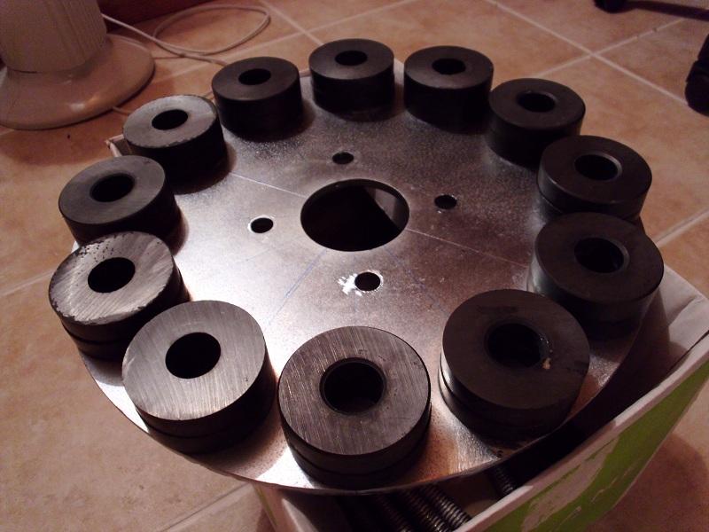 Pedro S Microwave Ferrite Magnet Turbine Hugh Piggott S Blog