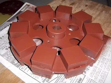 Building stacked up axial alternators | Hugh Piggott's blog