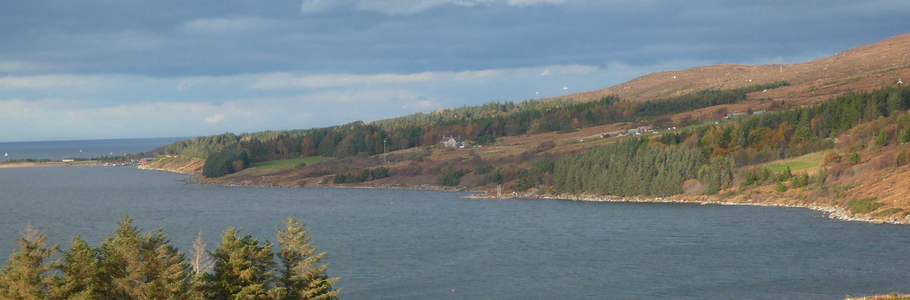 Scoraig peninsula