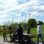 carting the turbine to the site