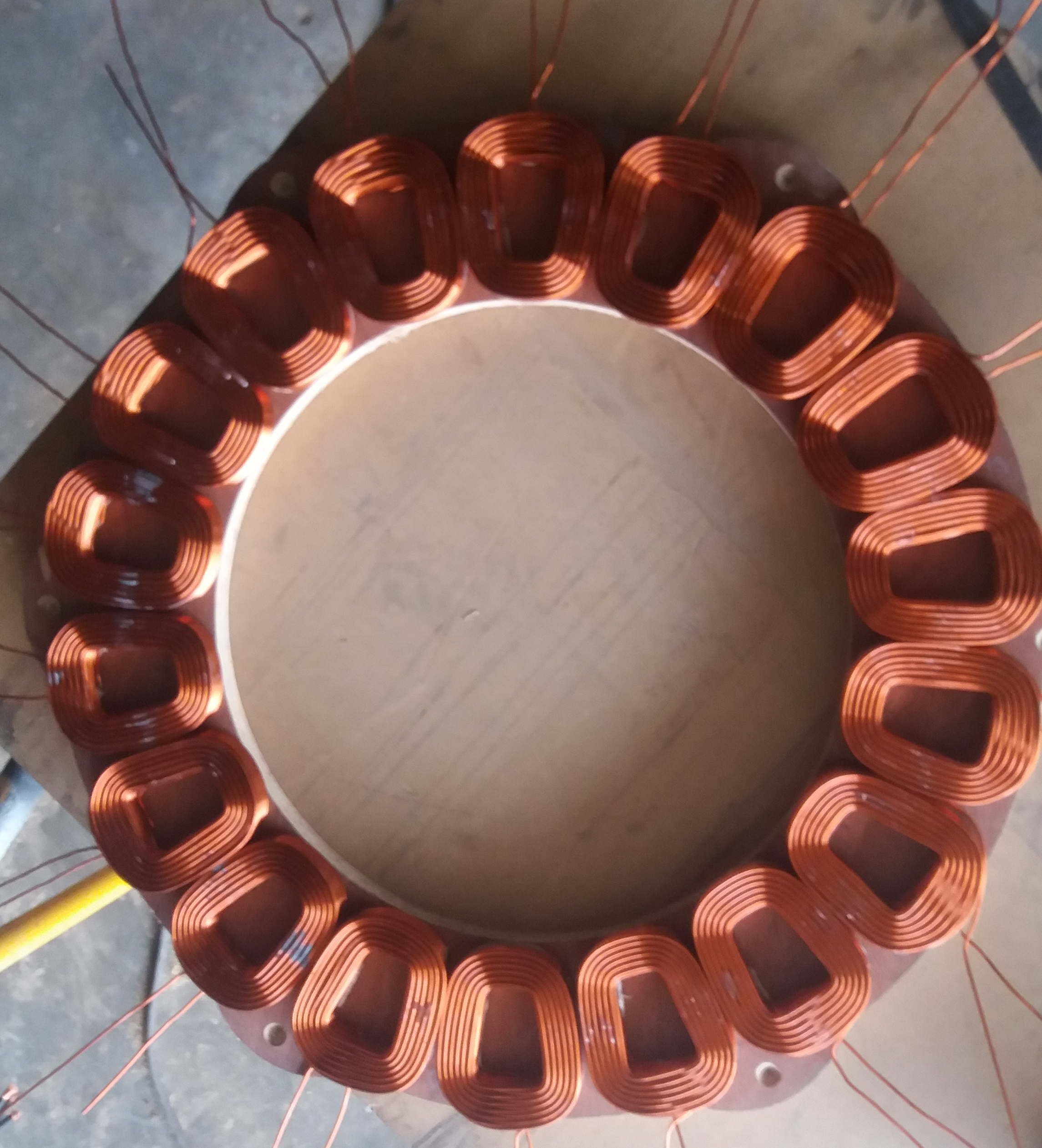 Now it is placed in my personal wind turbine. It is 24 meter High with ...