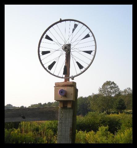 bike wheel windmill