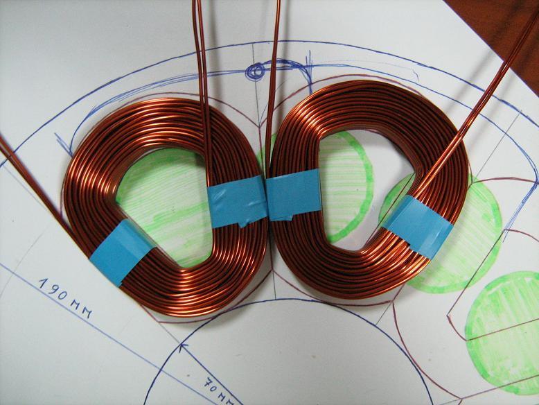 pedro's coil shape
