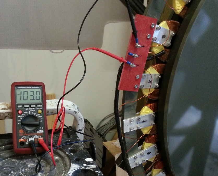 )ct 8  -- 103 Volts from A-F Alternator